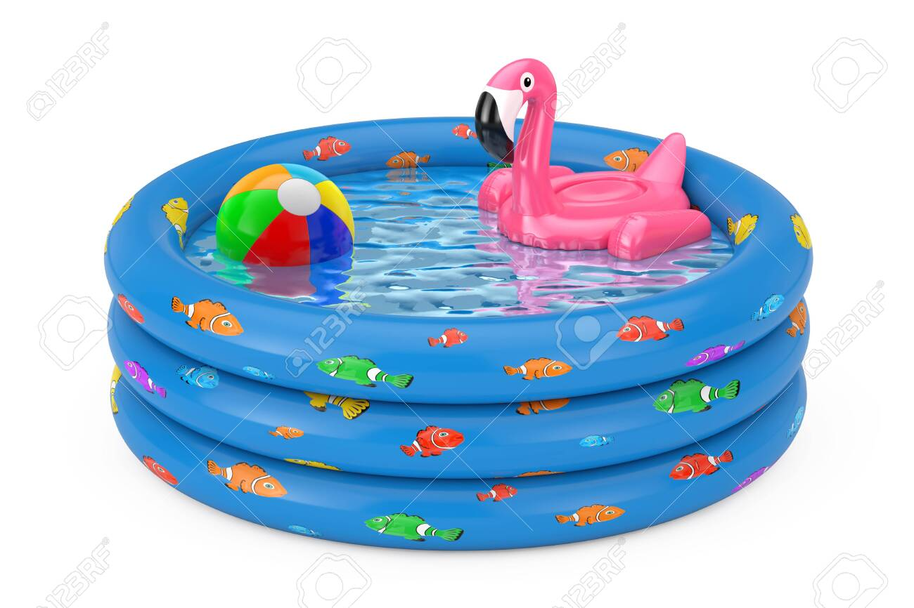 Summer Swimming Pool Inflantable Rubber Pink Flamingo Toy in..