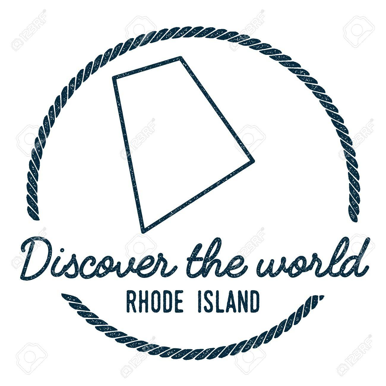 Rhode island map outline vintage discover the world rubber stamp rhode island map outline vintage discover the world rubber stamp with rhode island map gumiabroncs Choice Image