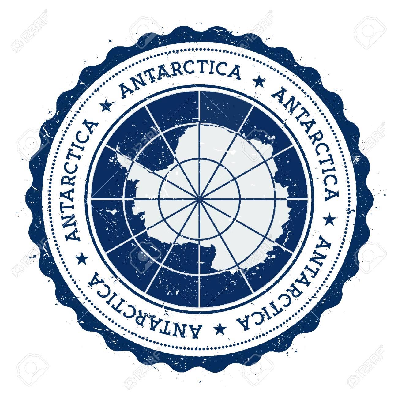 Oval CafePress Flag Of Antarctica Grunge Sticker 2015047890