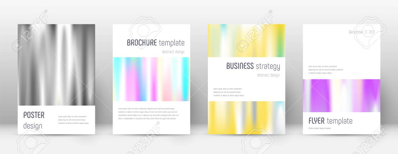 Flyer Layout Minimalistic Fresh Template For Brochure Annual