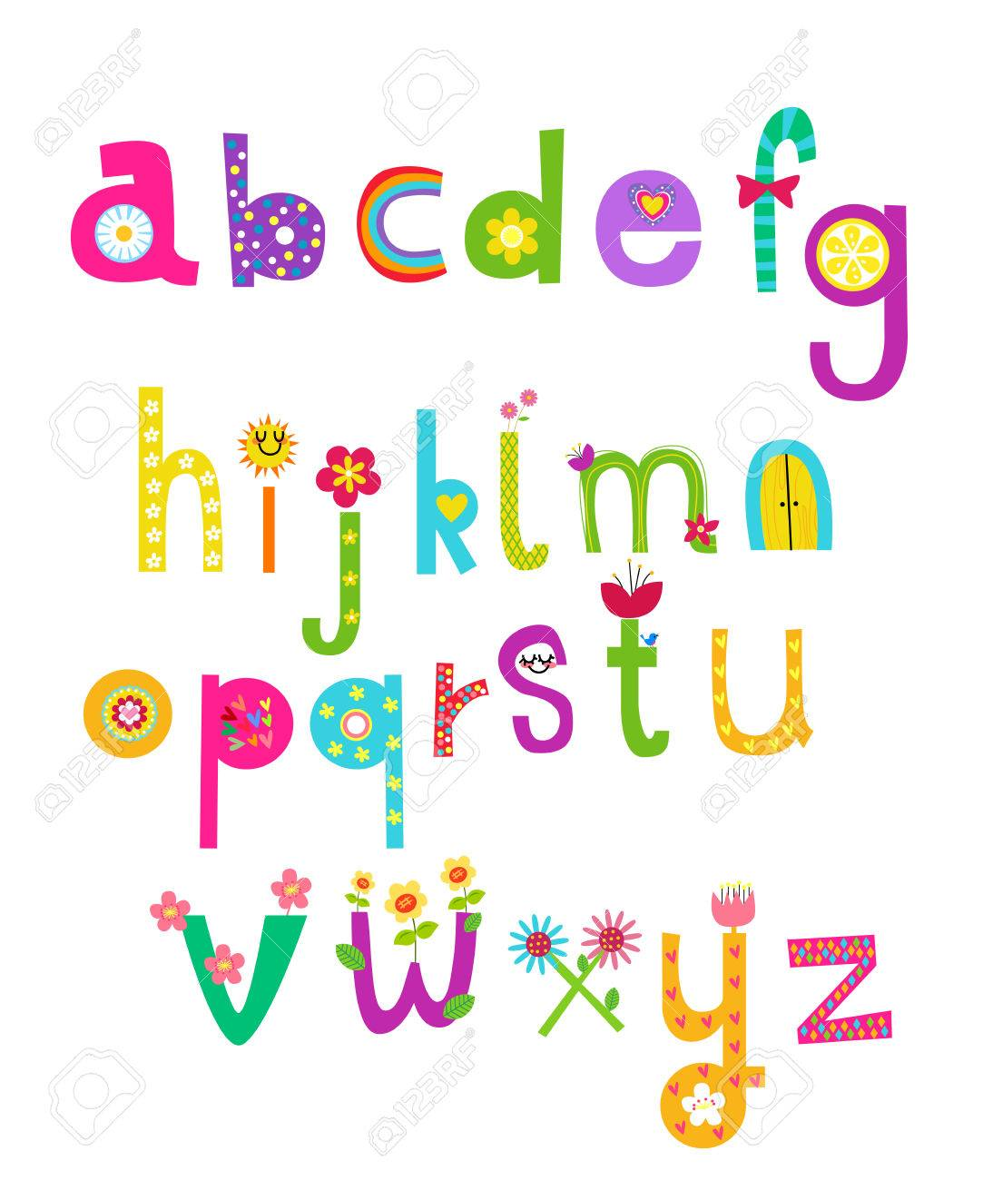 Cute alphabet royalty free cliparts vectors and stock illustration cute alphabet altavistaventures Image collections
