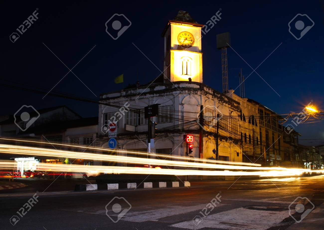 Old building in Phuket town, Thailand. Stock Photo - 14743849