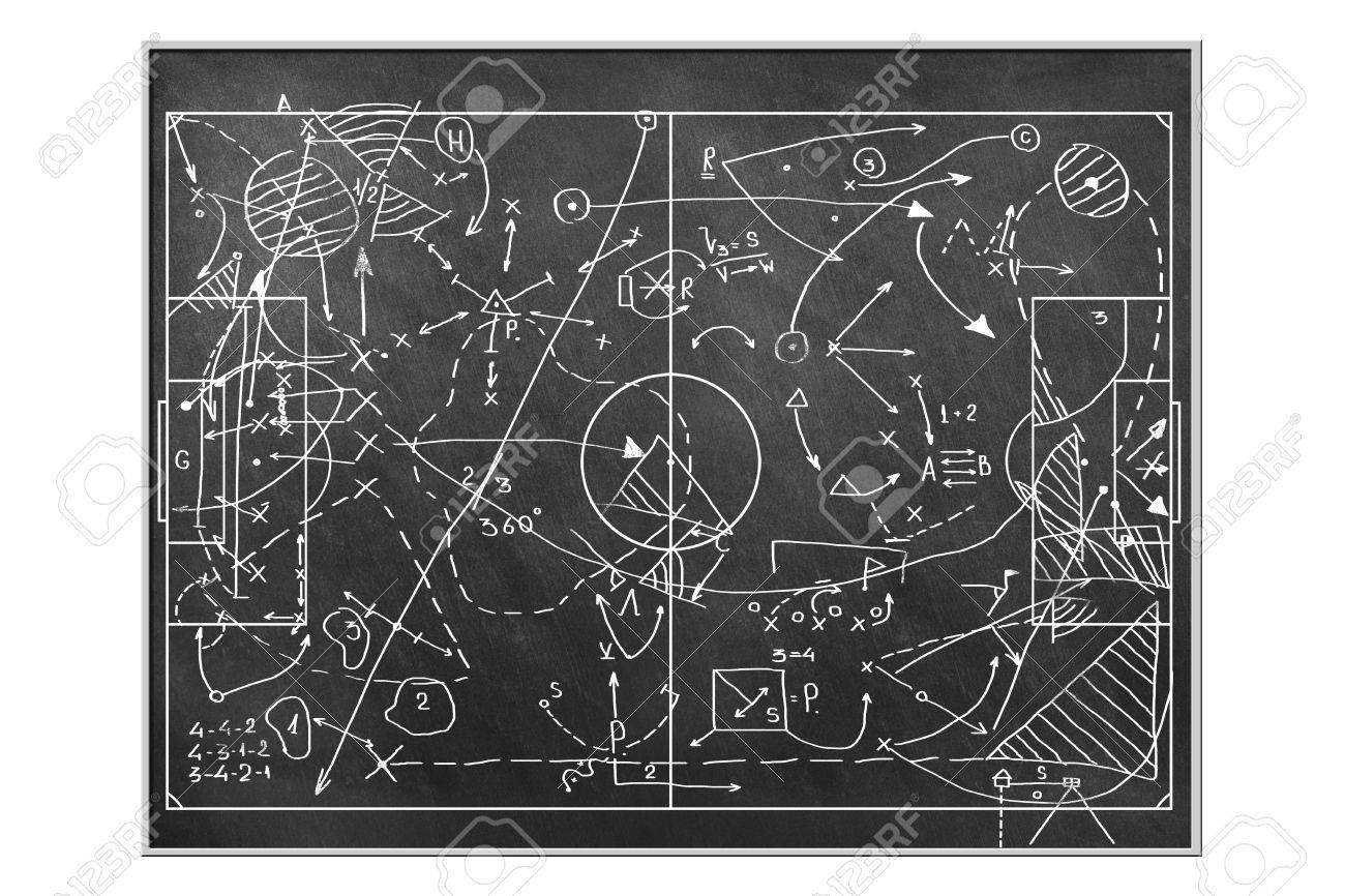 Football Tactics Stock Photo Picture And Royalty Free Image Image