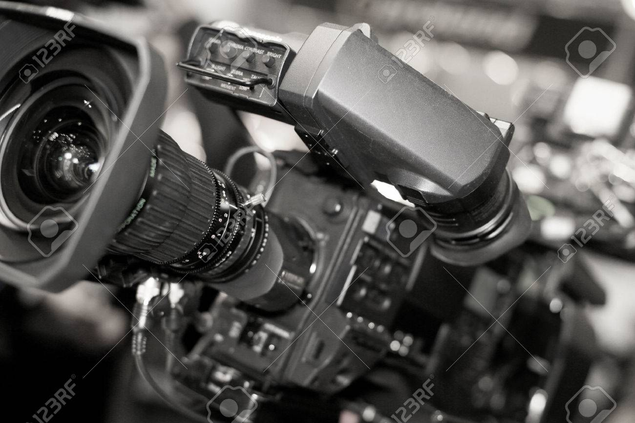 Video camera for professionals, the new video technology - 43691088