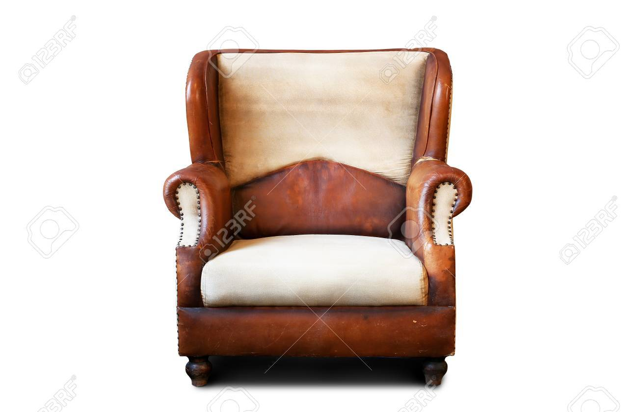 Old Armchair Stock Photo   56104015