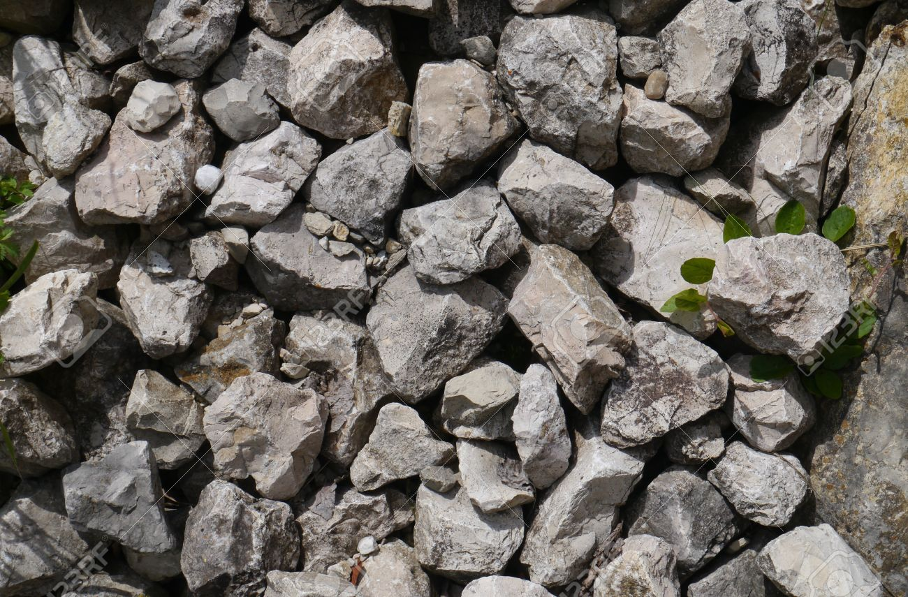 muro de piedra suelo de piedra piedras material construccin foto de archivo