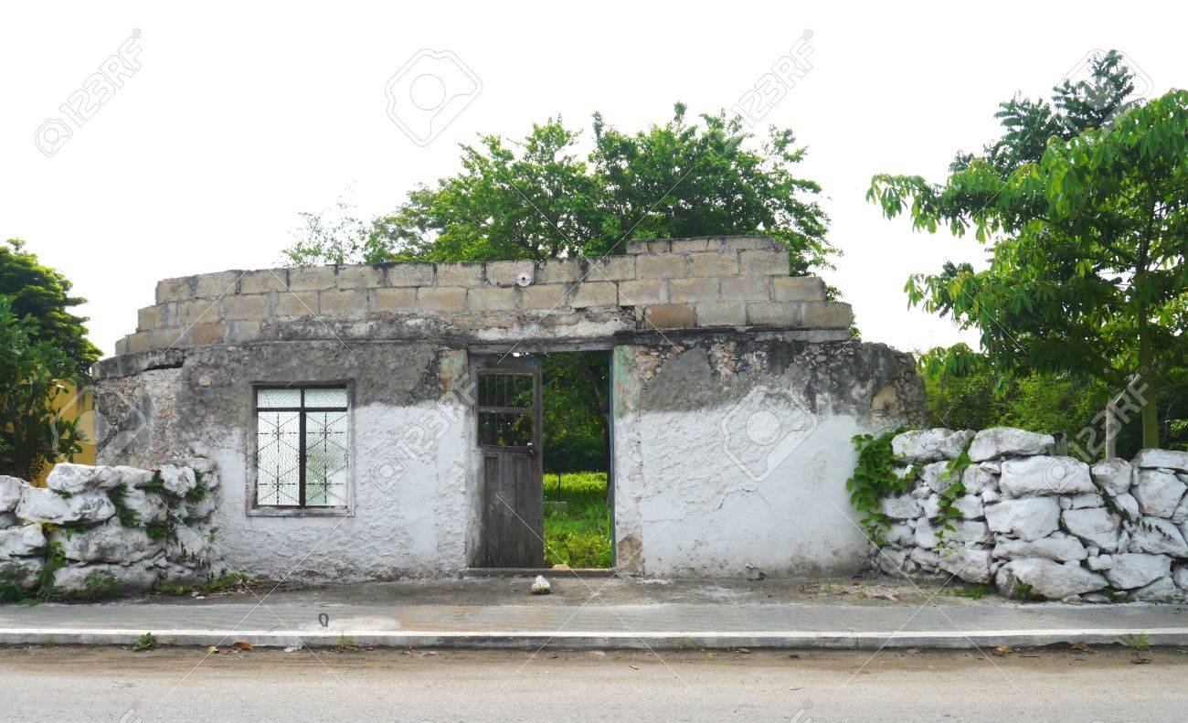 mexico houses colonial old style merida stock photo 42567044 - Old Style Houses