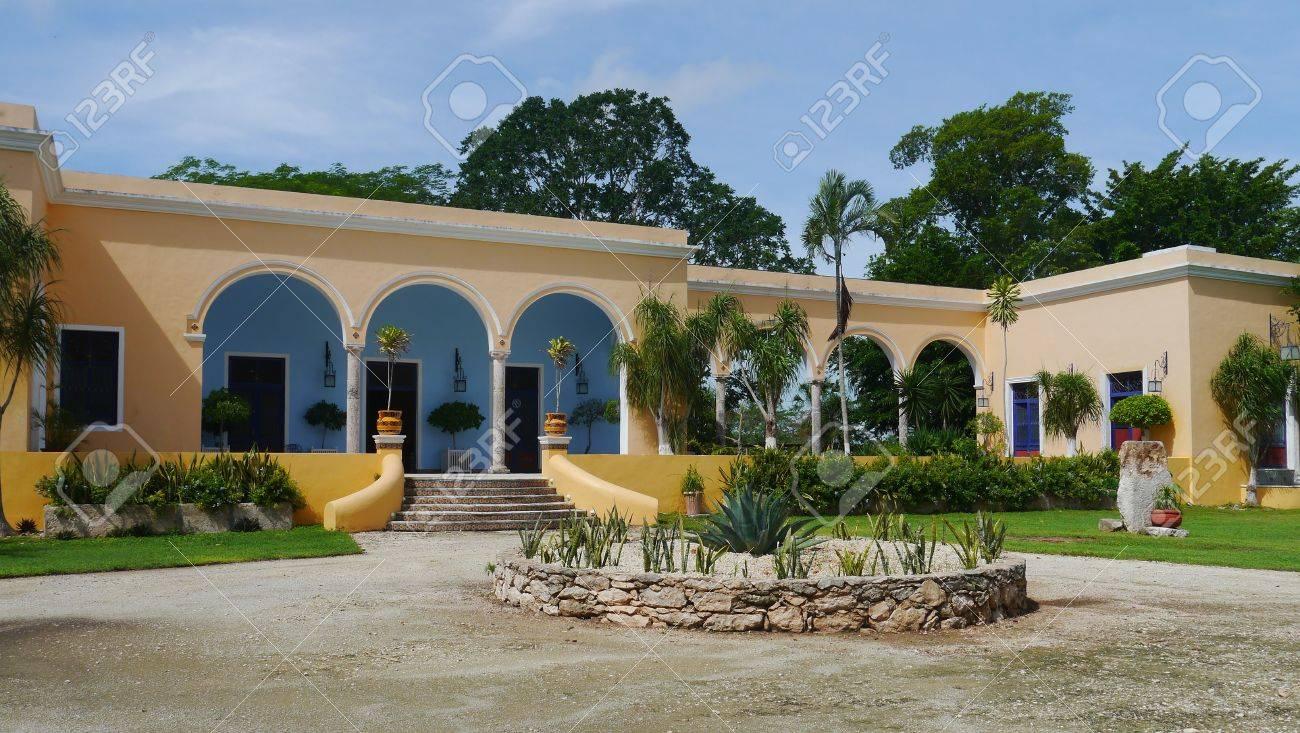 Hacienda finca rancho Mexico Merida farm colonial Holiday spa
