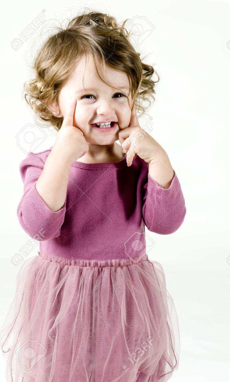 Baby Girl Posing Stock Photo - 11165752