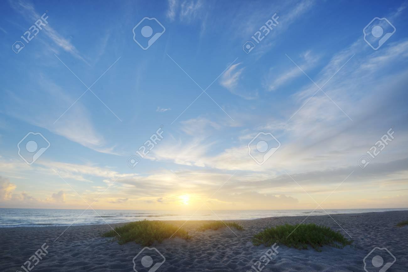 Indialantic Beach in Florida Stock Photo - 16693922