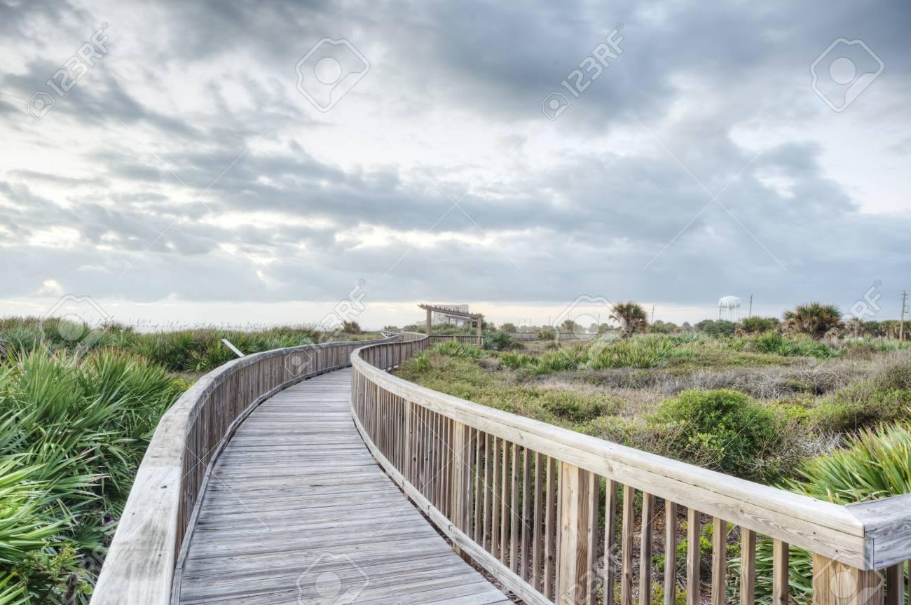 Sunrise in Satellite Beach, Florida Stock Photo - 16693936