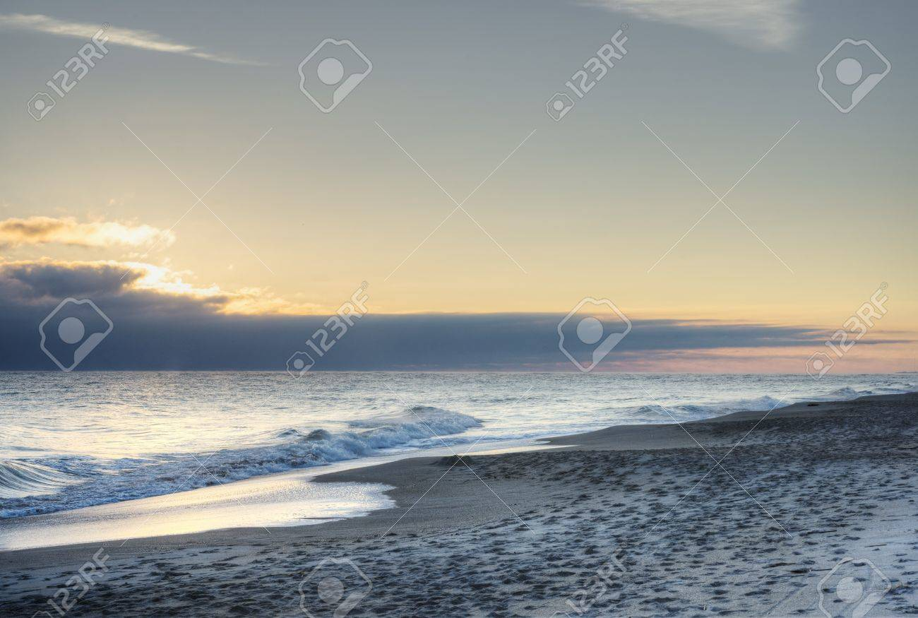 Cape Canaveral Beach Stock Photo - 17081015