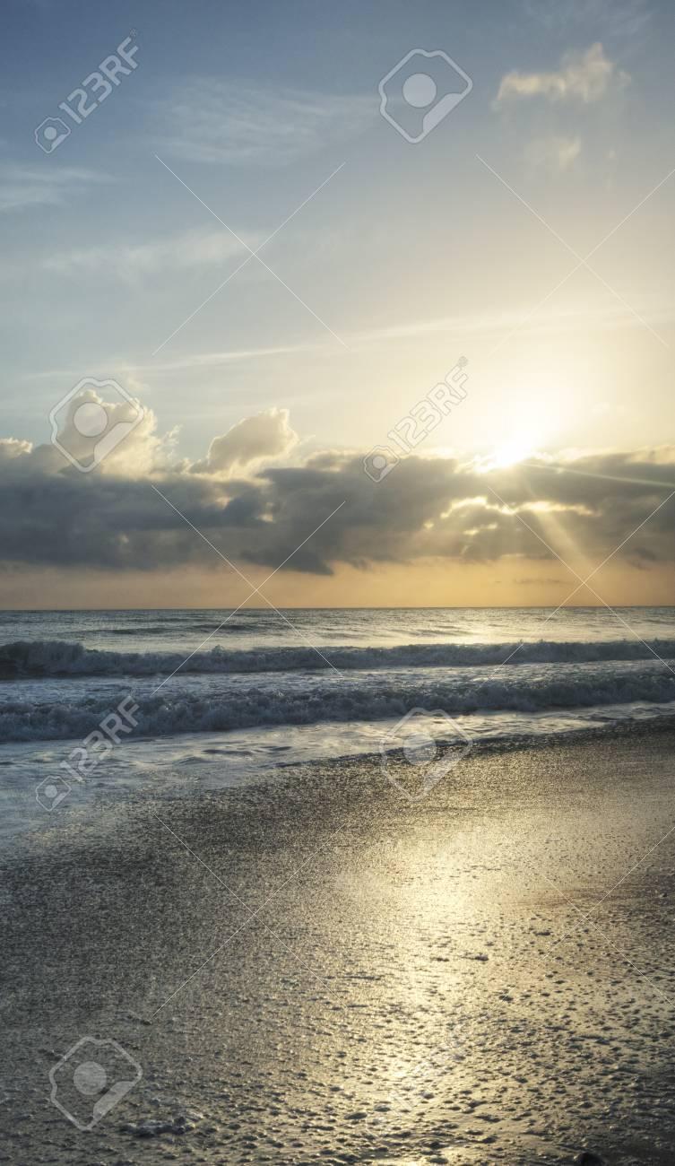 Sunrise at Canaveral National Seashore Stock Photo - 18089257