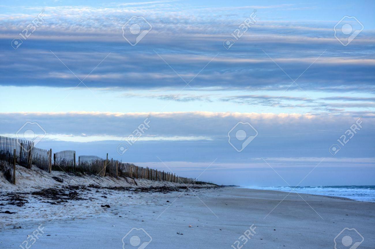 Morning at Canaveral National Seashore Stock Photo - 18445508