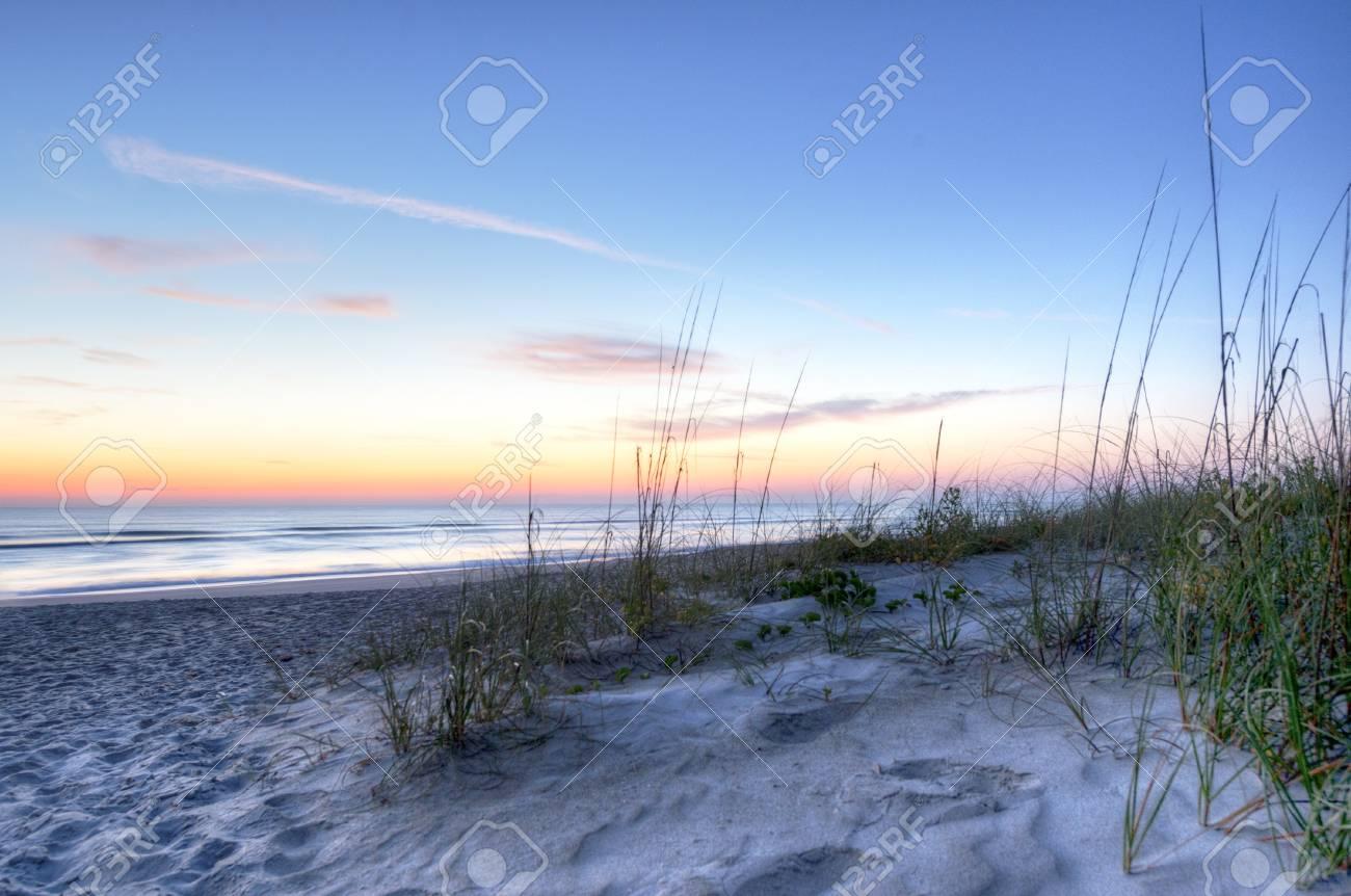Sunrise in Melbourne Beach Stock Photo - 18656172