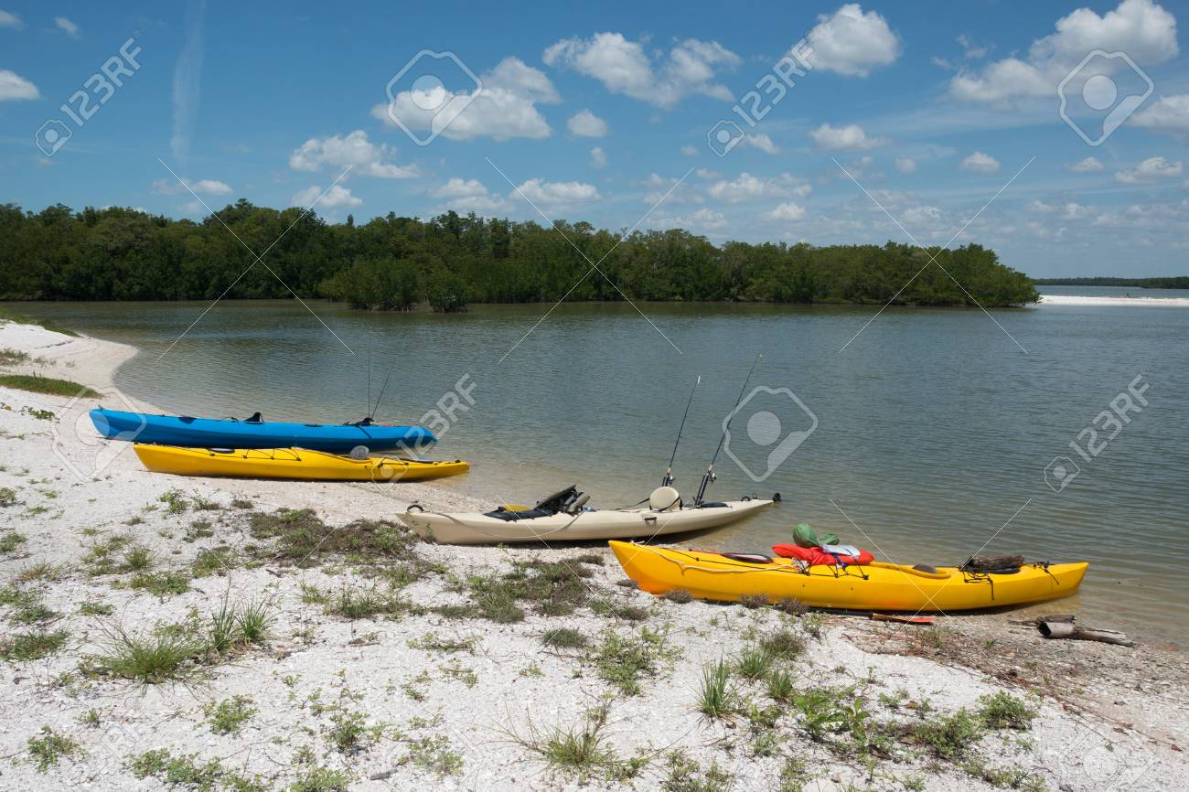 Kayaking in the Ten Thousand Islands Stock Photo - 19502516