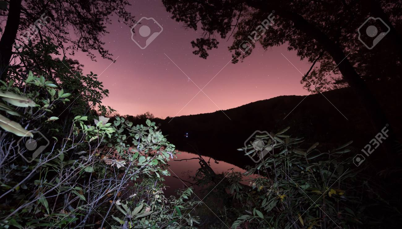 Night inthe Blue Ridge Mountains Stock Photo - 19502563