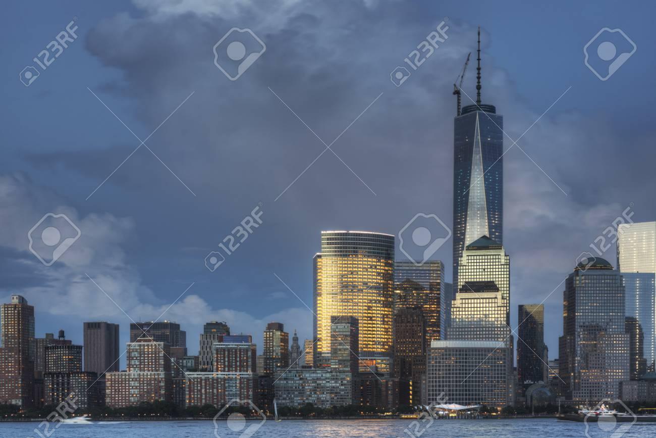 NYC at Night Stock Photo - 20862351