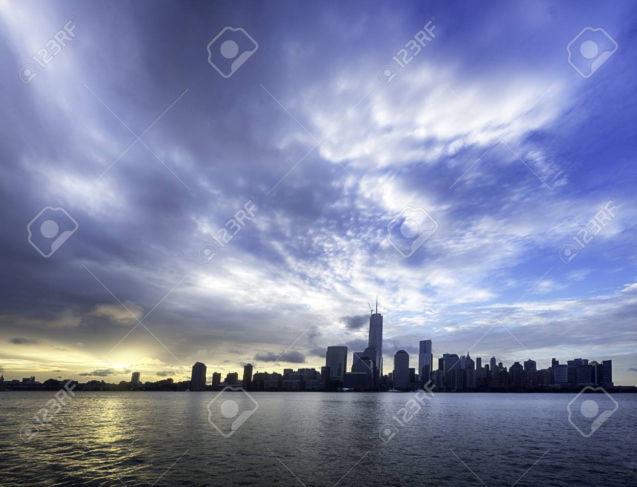 NYC at Sunrise Stock Photo - 21889462