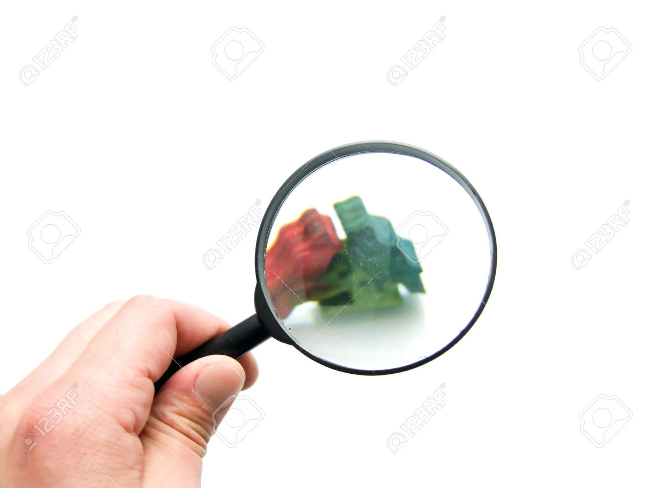 magnifying glass Stock Photo - 5330182