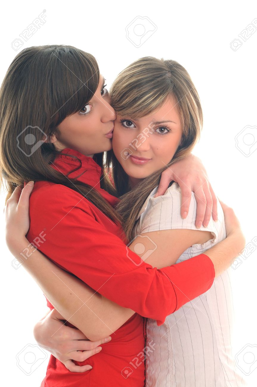 jonge sexy lesbische