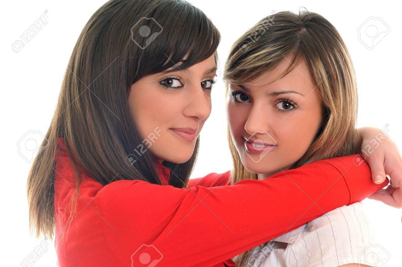 Mädchen auf Mädchen lesbisch