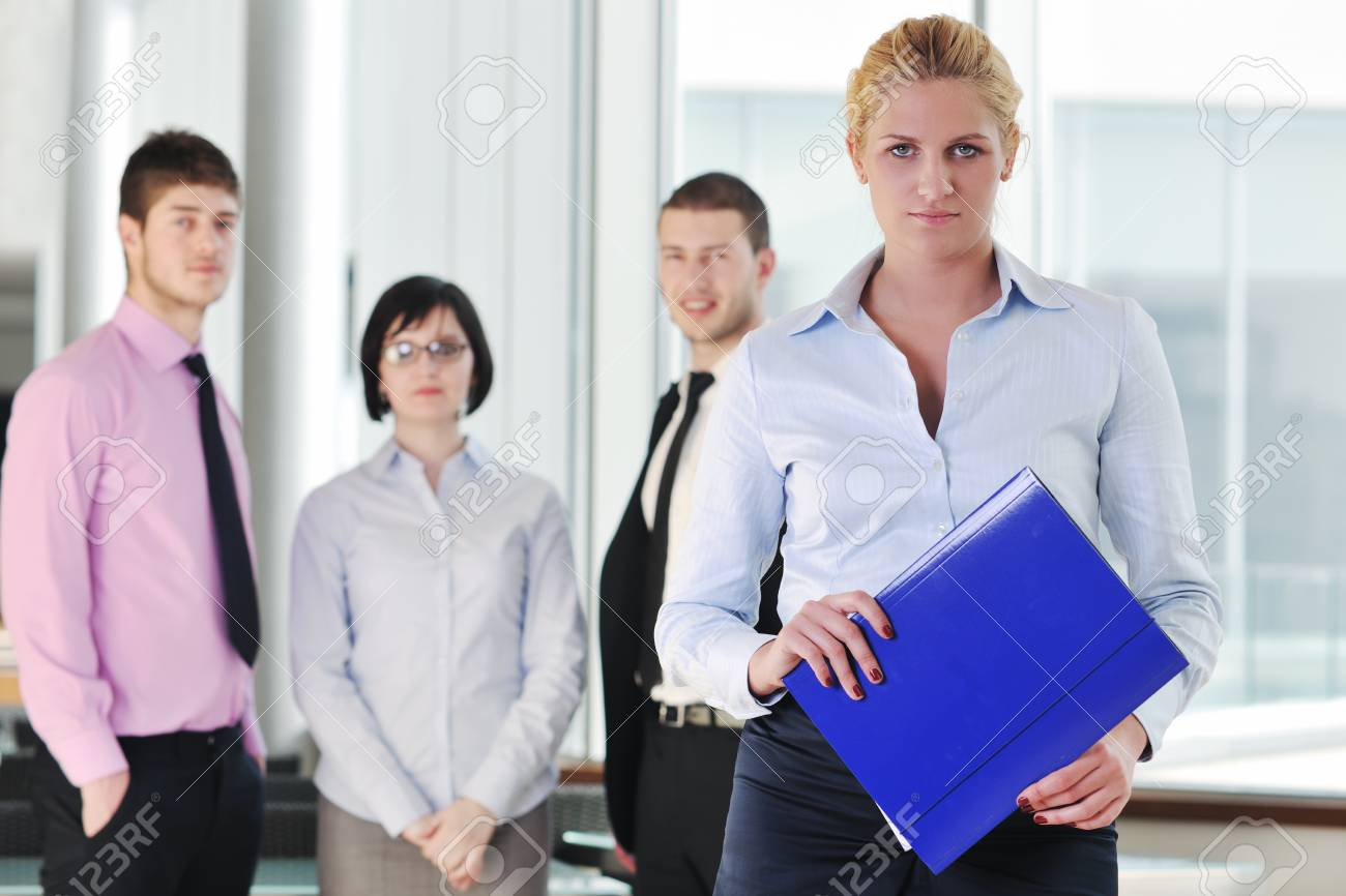 multi ethnic mixed adults  corporate business people team Stock Photo - 9296226