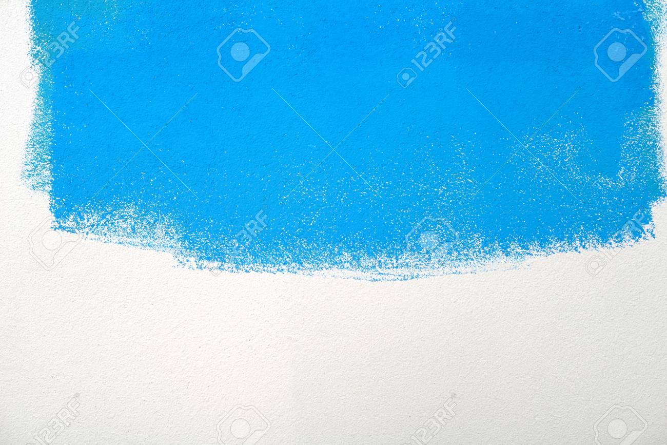 Malen Wandfarbe Hintergrund Blau Grun Realen Textur Auf Weiss Mit