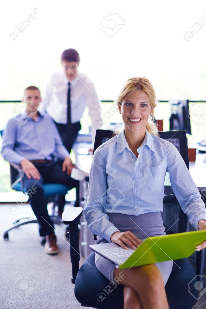 business people  team  group  on a meeting have success and make deal Stock Photo - 15528602