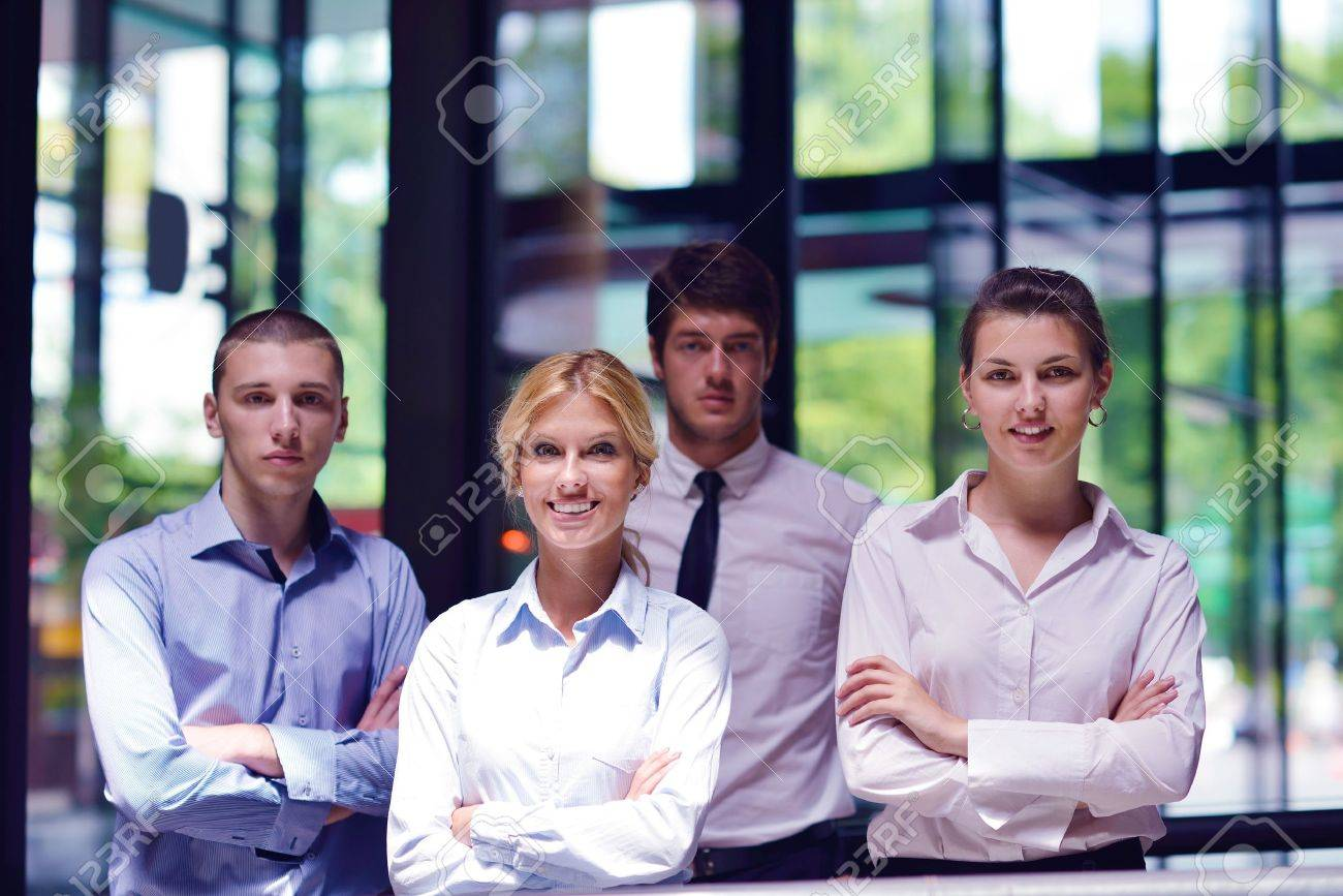 business people  team  group  on a meeting have success and make deal Stock Photo - 16522987