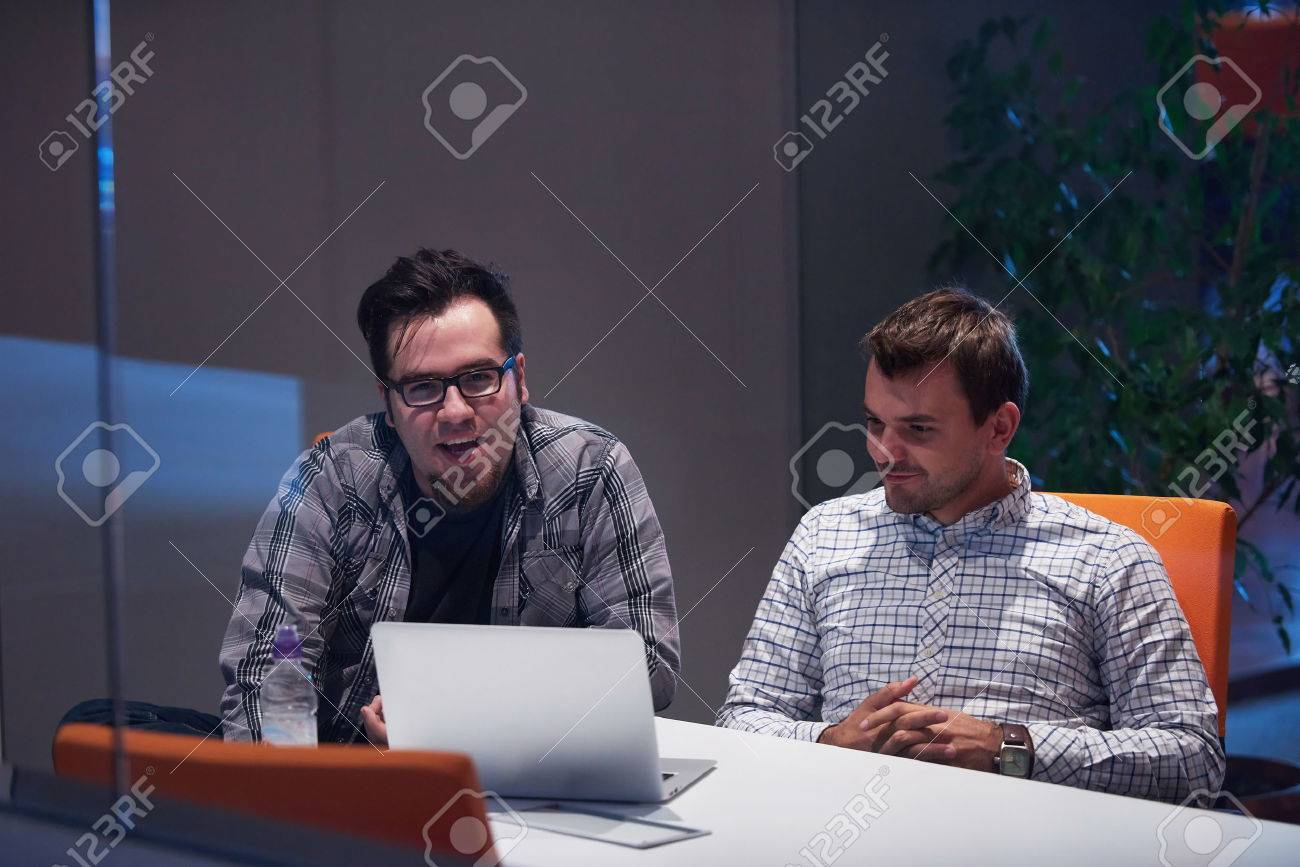 startup business people group working everyday job  at modern office Stock Photo - 49118830