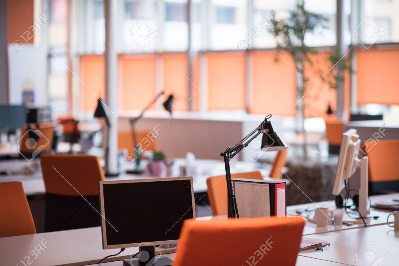Empty Modern Open Plan Office - 69598371