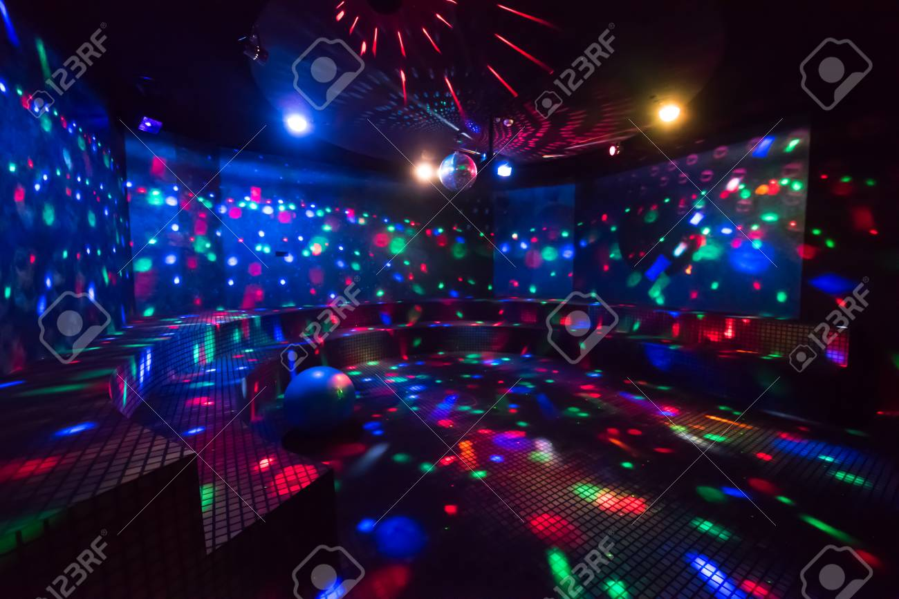 Disco Ball Light Reflection Background Stock Photo   83274782