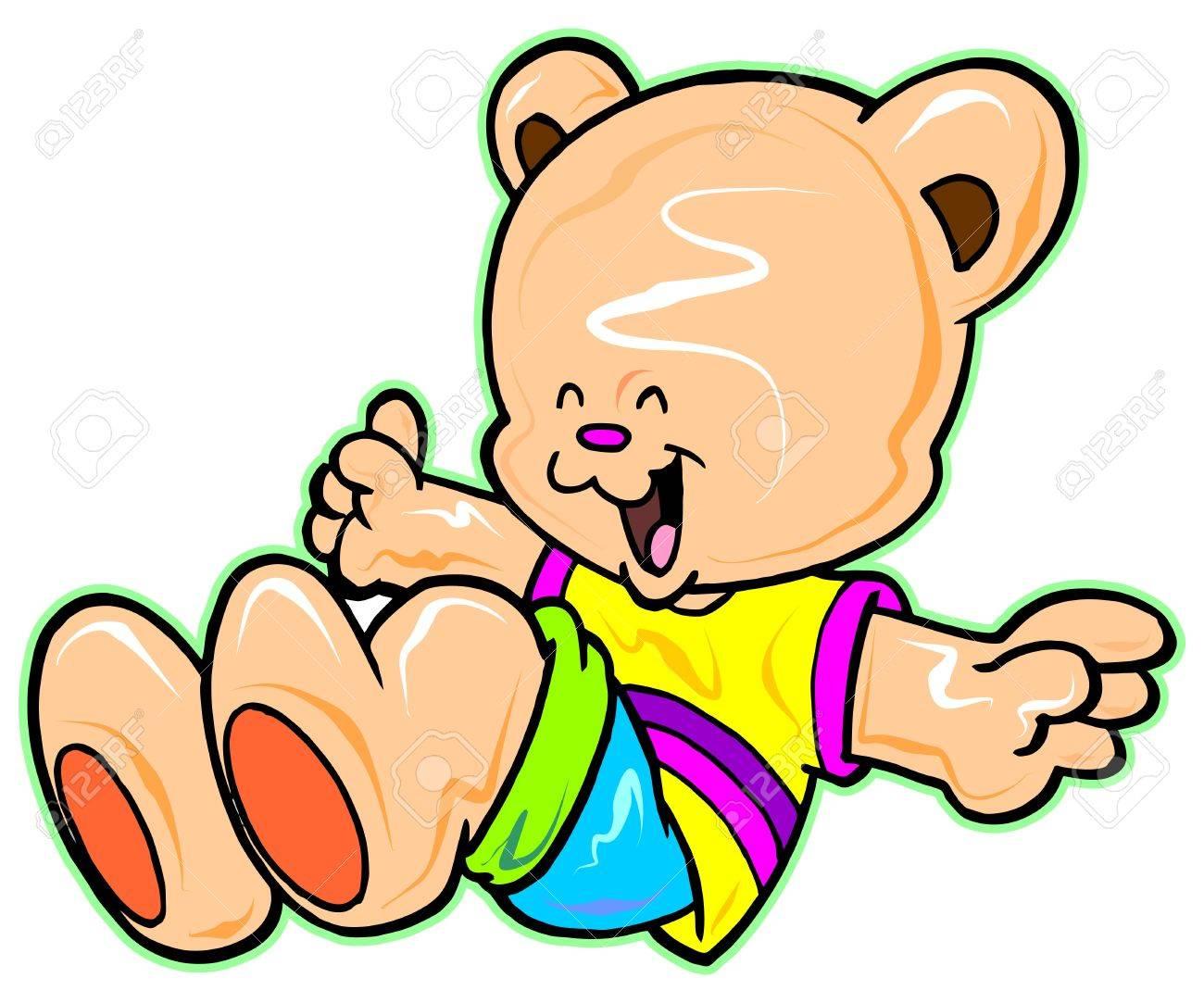 happy bear Stock Vector - 9540348