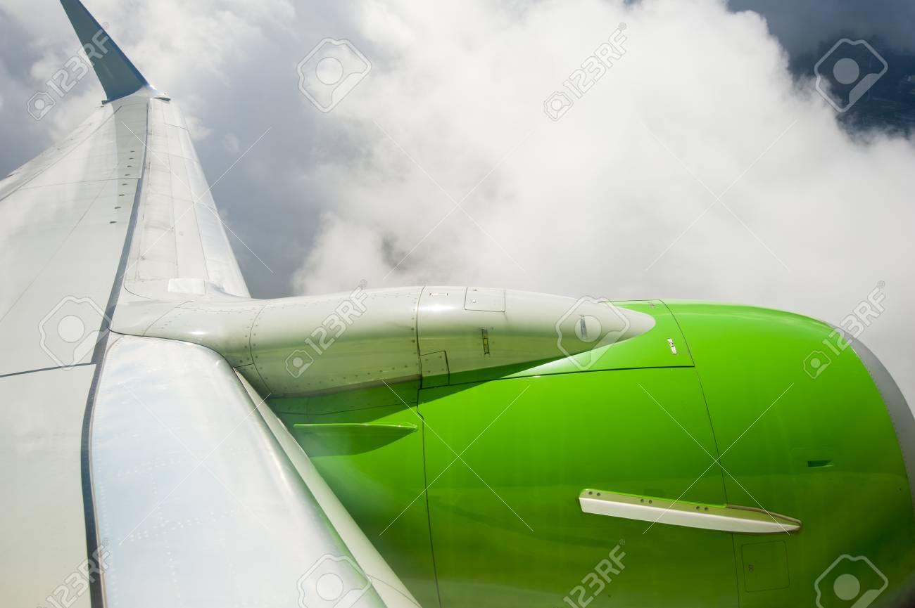 View through aircraft window Stock Photo - 22872311