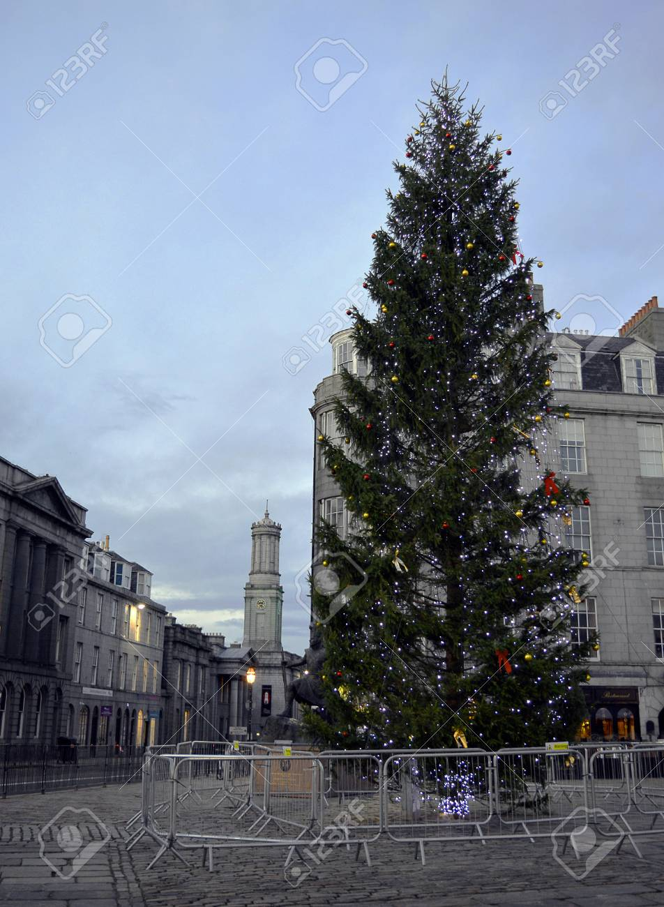 A Christmas Tree, A 35 Foot Norway Spruce, A Gift From The City ...