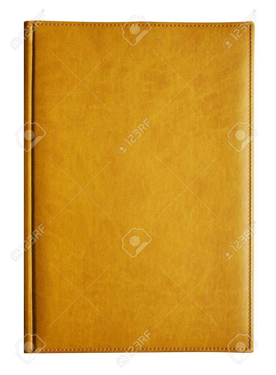 白で隔離されるイエロー ブック の写真素材・画像素材 Image 24001045.