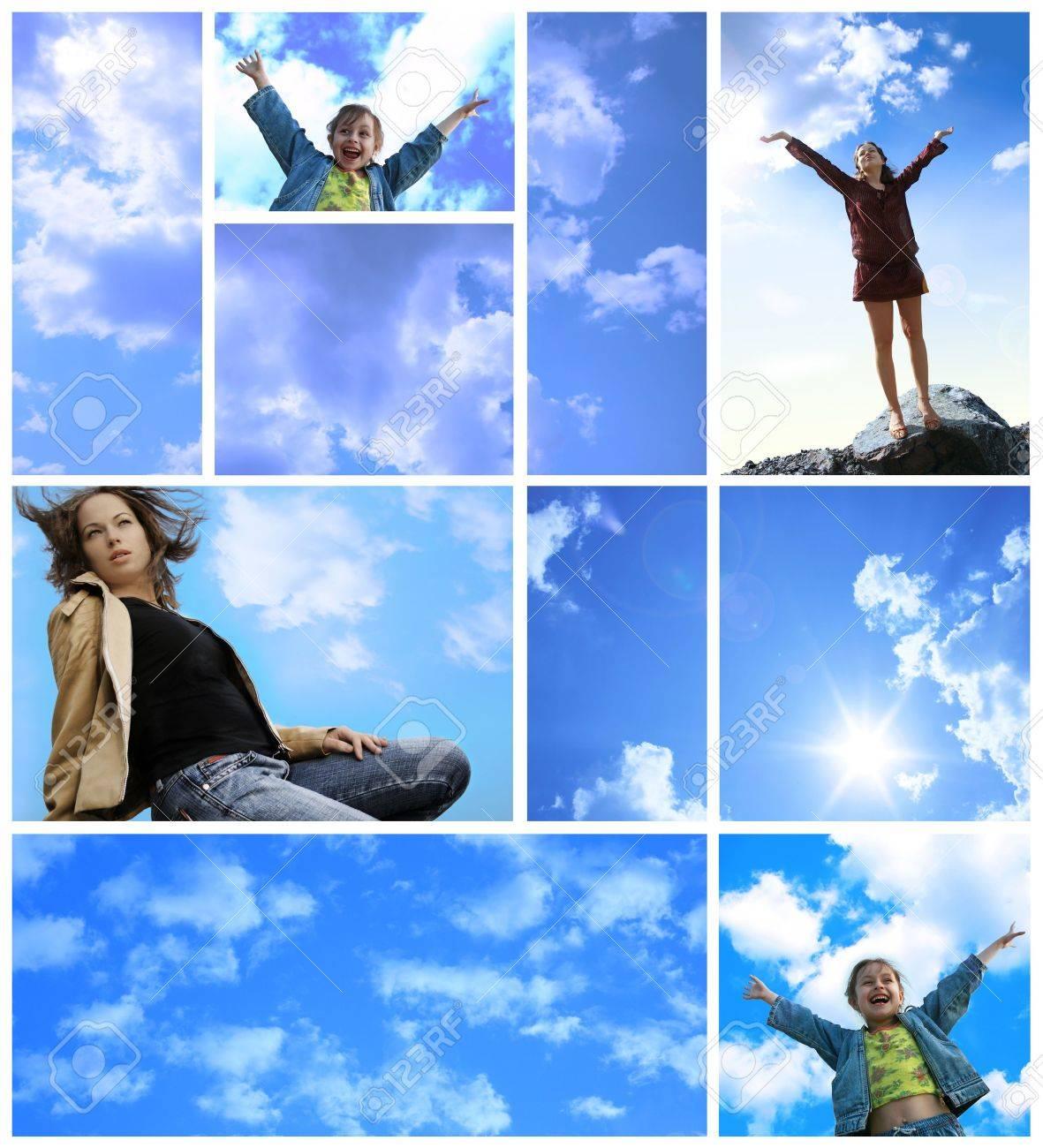 joy and freedom assembling Stock Photo - 1960153