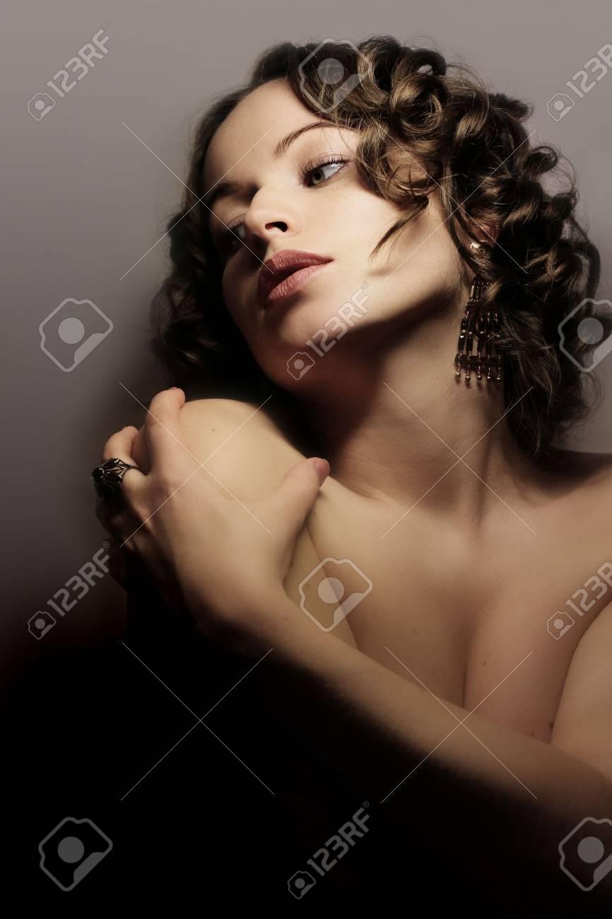 Beautiful woman. Fashion art photo Stock Photo - 1989149
