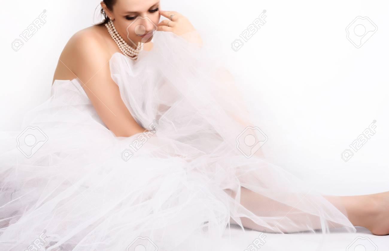 Beautiful young woman Stock Photo - 3237461