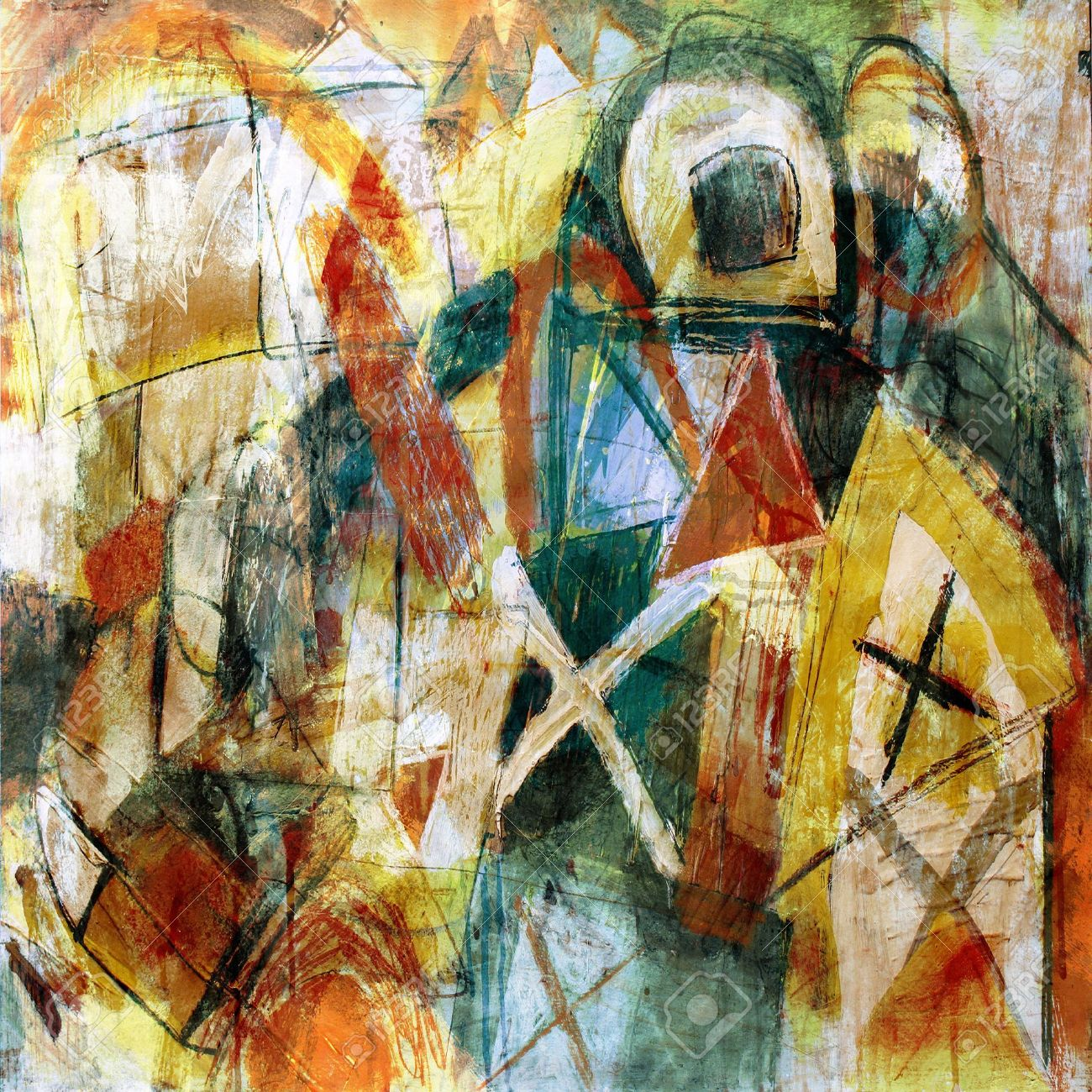 Célèbre 100+ [ Peinture Abstraite Pas Cher ]   Peinture Abstraite  EE55