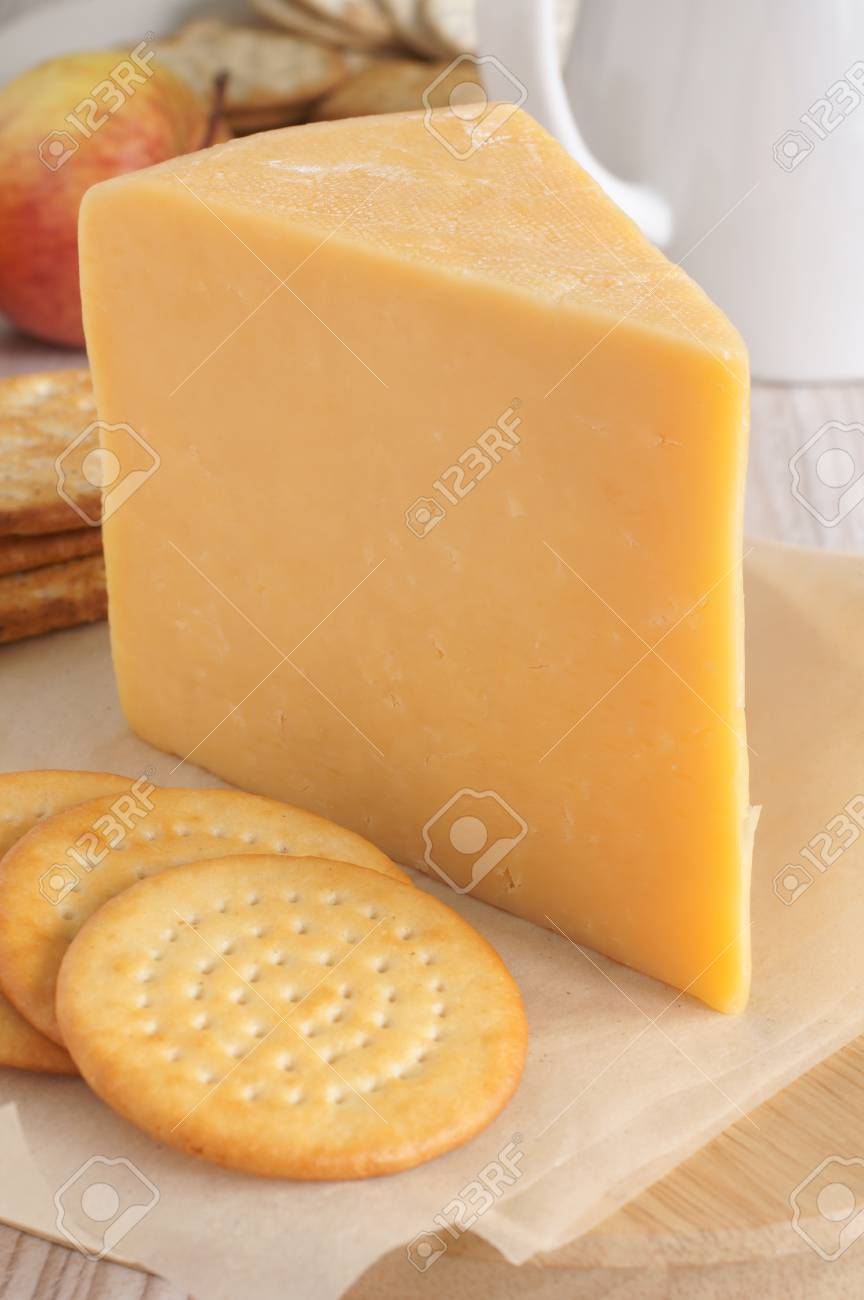 Double Gloucester a traditional British cheese