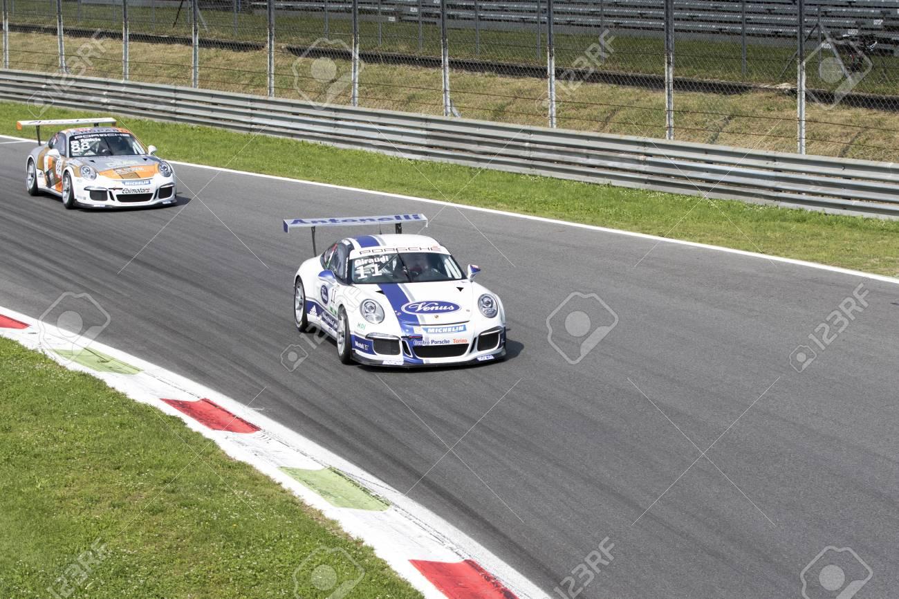 Circuit Monza Italia : Monza italy may porsche gt cup of antonelli