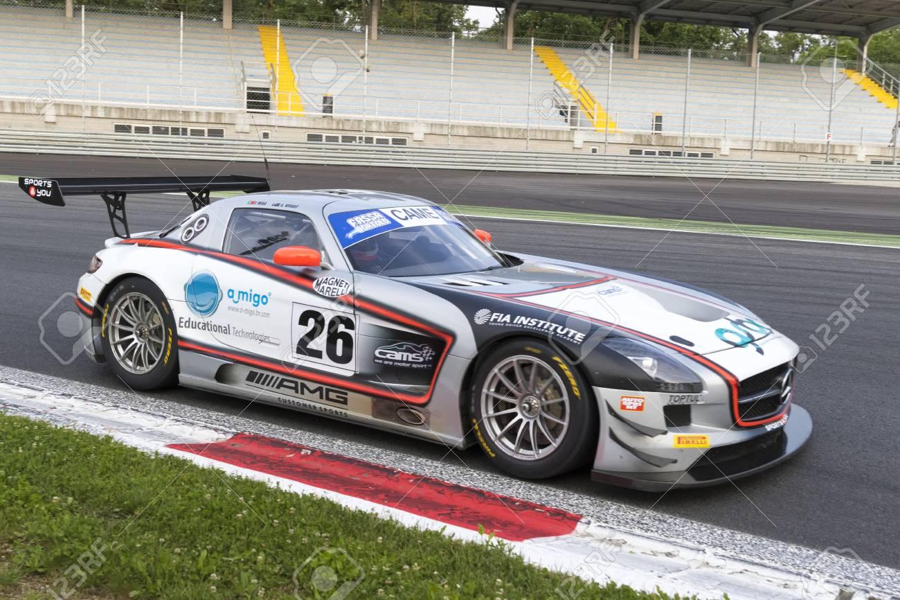 Circuit Monza Italia : Monza italy may ferrari of pellin team driven