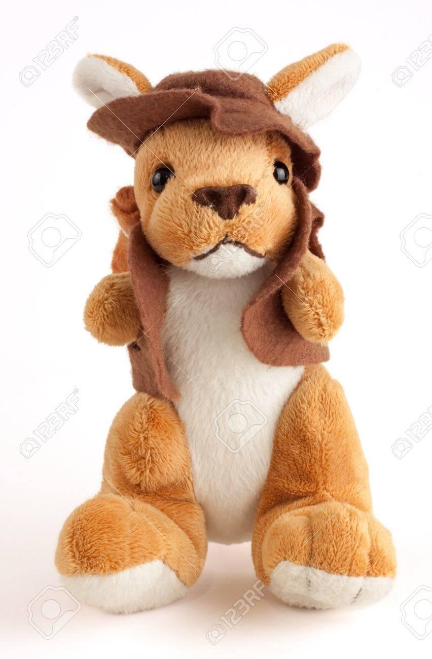 Kangaroo soft toy Stock Photo - 11799673