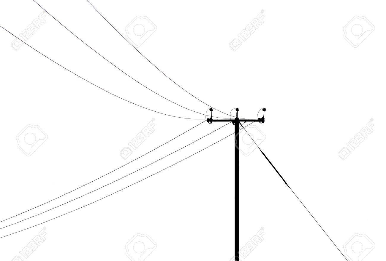 Telegraph Pole Stock Photo - 11799636
