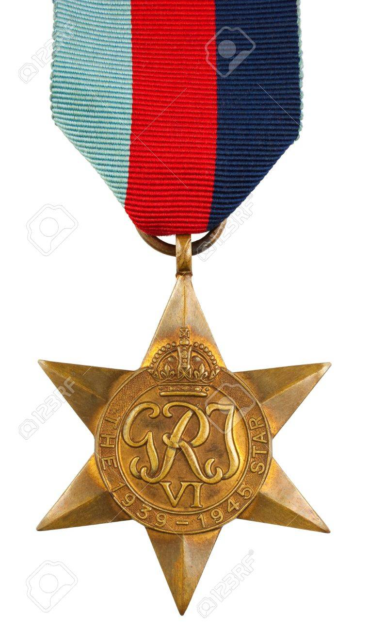 The 1939-1945 Star Second World War Medal Stock Photo - 12812465