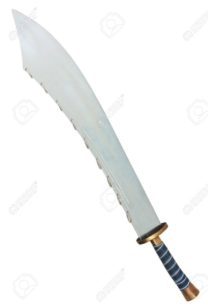 Nine Ring Broad sword Stock Photo - 14636404