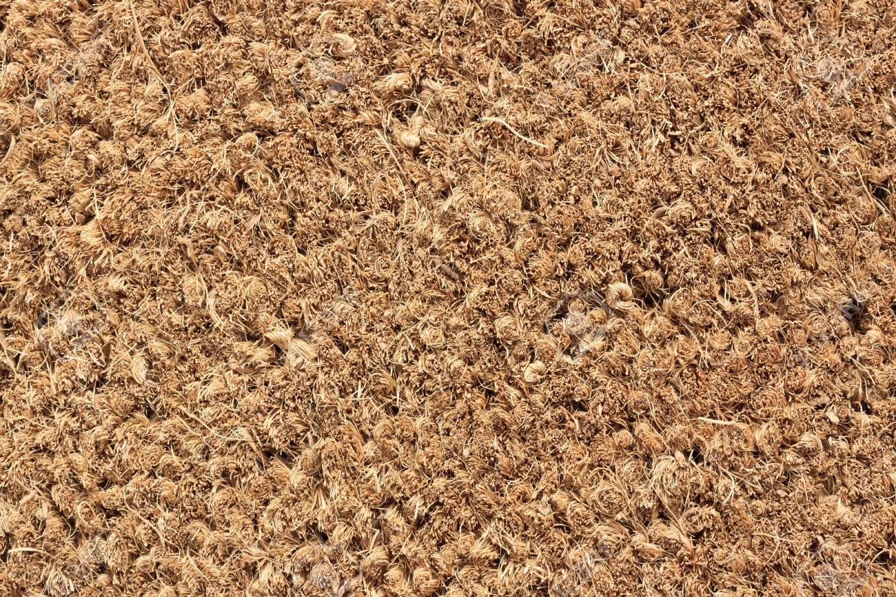Close-up of Door Mat - Macro Texture Stock Photo - 41837504