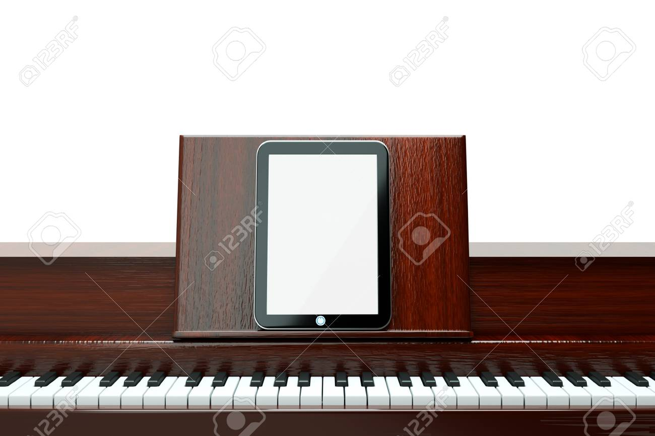 play your music from tablet pc Stock Photo - 11316723